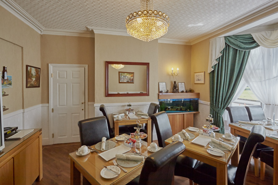 Shrewsbury Guest House Dining Room